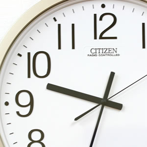 CITIZEN シチズン 電波掛け時計 パルウェーブM603B【4MY603-B19】 文字盤