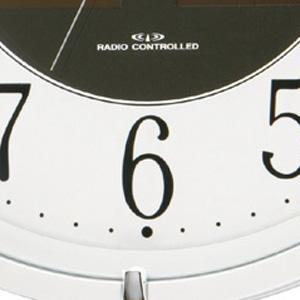 CITIZEN シチズン ソーラー電波掛け時計エコライフM806【4my806-003】 文字盤