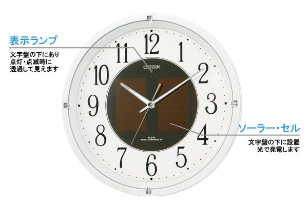 CITIZEN シチズン ソーラー電波掛け時計エコライフM806【4my806-003】 商品詳細