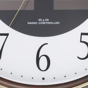 CITIZEN シチズン ソーラー電波掛け時計エコライフM807【4my807-023】 文字盤