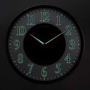CITIZEN シチズン ソーラー電波掛け時計エコライフM807【4my807-023】 ナチュライト付き