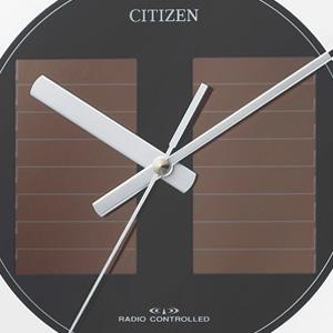CITIZEN シチズン ソーラー電波掛け時計エコモードM818【4MY818-019】 ソーラーパネル