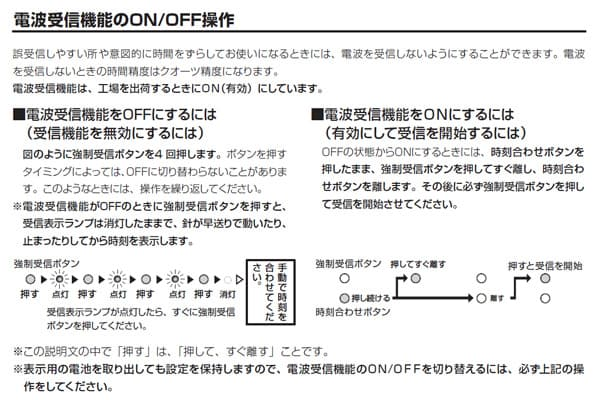 CITIZEN シチズン電波掛け時計スリーウェイブM821【4my821-019】 電波受信