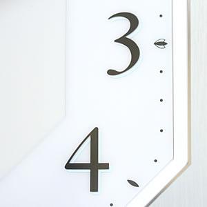 CITIZEN シチズン 電波掛け時計 サイレントソーラーM826【4MY826-004】 文字盤