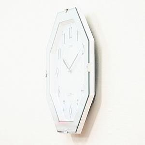 CITIZEN シチズン 電波掛け時計 サイレントソーラーM826【4MY826-004】 側面