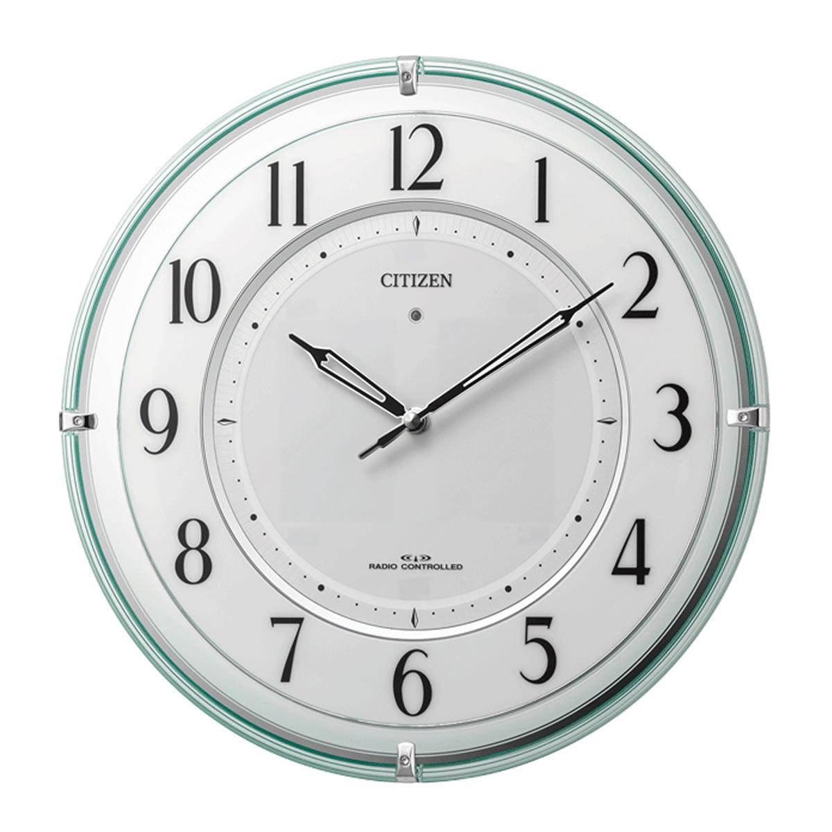 CITIZEN(シチズン) ソーラー電波掛け時計  4MY851-005