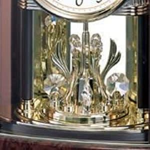 CITIZEN シチズン 4RY658-N23 置き時計 スワロフスキー・エレメント回転飾り