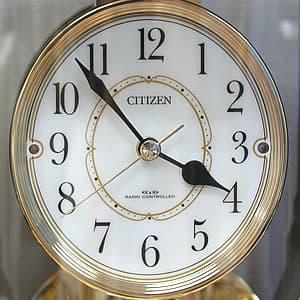 CITIZEN/シチズン パルドリーム電波置き時計 【4RY659018】 文字盤