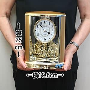 CITIZEN/シチズン パルドリーム電波置き時計 【4RY659018】 サイズ