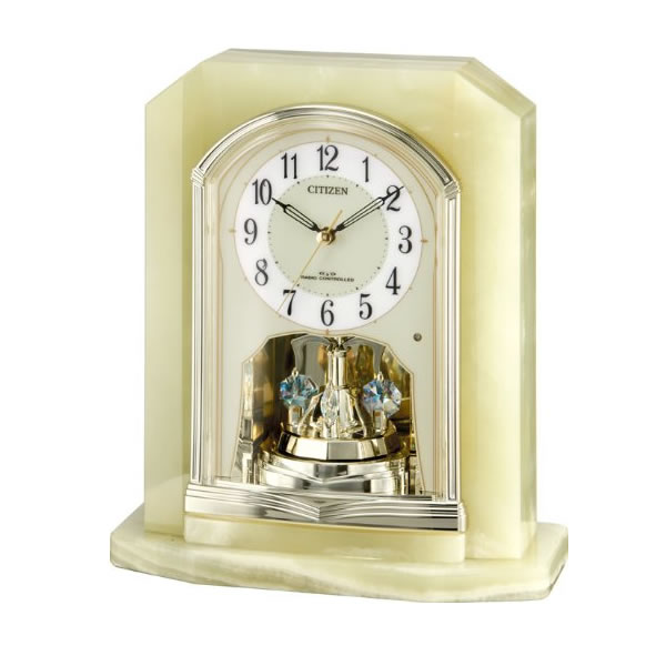 CITIZEN(シチズン)電波置時計パルラフィーネR691 4RY691-005