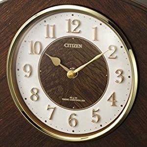 CITIZEN シチズン 電波置き時計 パルロワイエR705F 【4RY705-N06】 文字盤