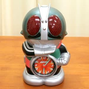 仮面ライダー目さまし時計 正面