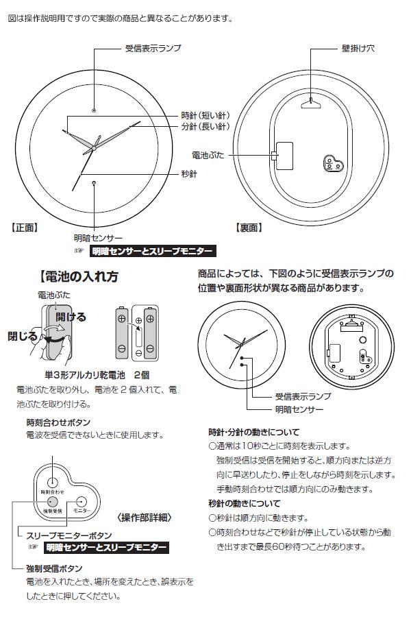 CITIZEN シチズン 電波掛け時計 パルウェーブM437【8my437019】 商品詳細