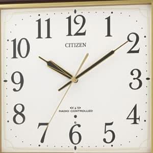 CITIZEN シチズン 電波掛け時計 ネムリーナアスカ【8my455-006】 文字盤