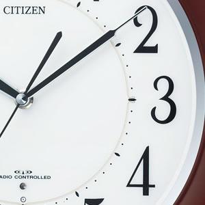CITIZEN シチズン 夜光電波掛け時計 リバライトF461 【8MY461-006】 文字盤