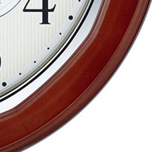CITIZEN シチズン 電波掛け時計 ネムリーナインフォートW【8my464006】 木枠