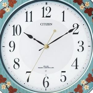 CITIZEN シチズン 象嵌仕上電波掛け時計 プリュマージュM468【8MY468-005】 文字盤