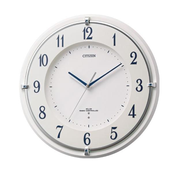 CITIZEN(シチズン)電波掛け時計ミレディM486 8my486-003