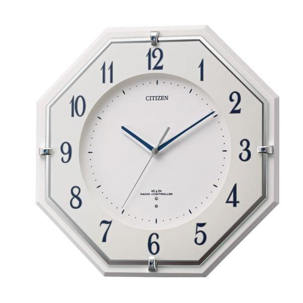 CITIZEN(シチズン)電波掛け時計ミレディM487 8my487-003