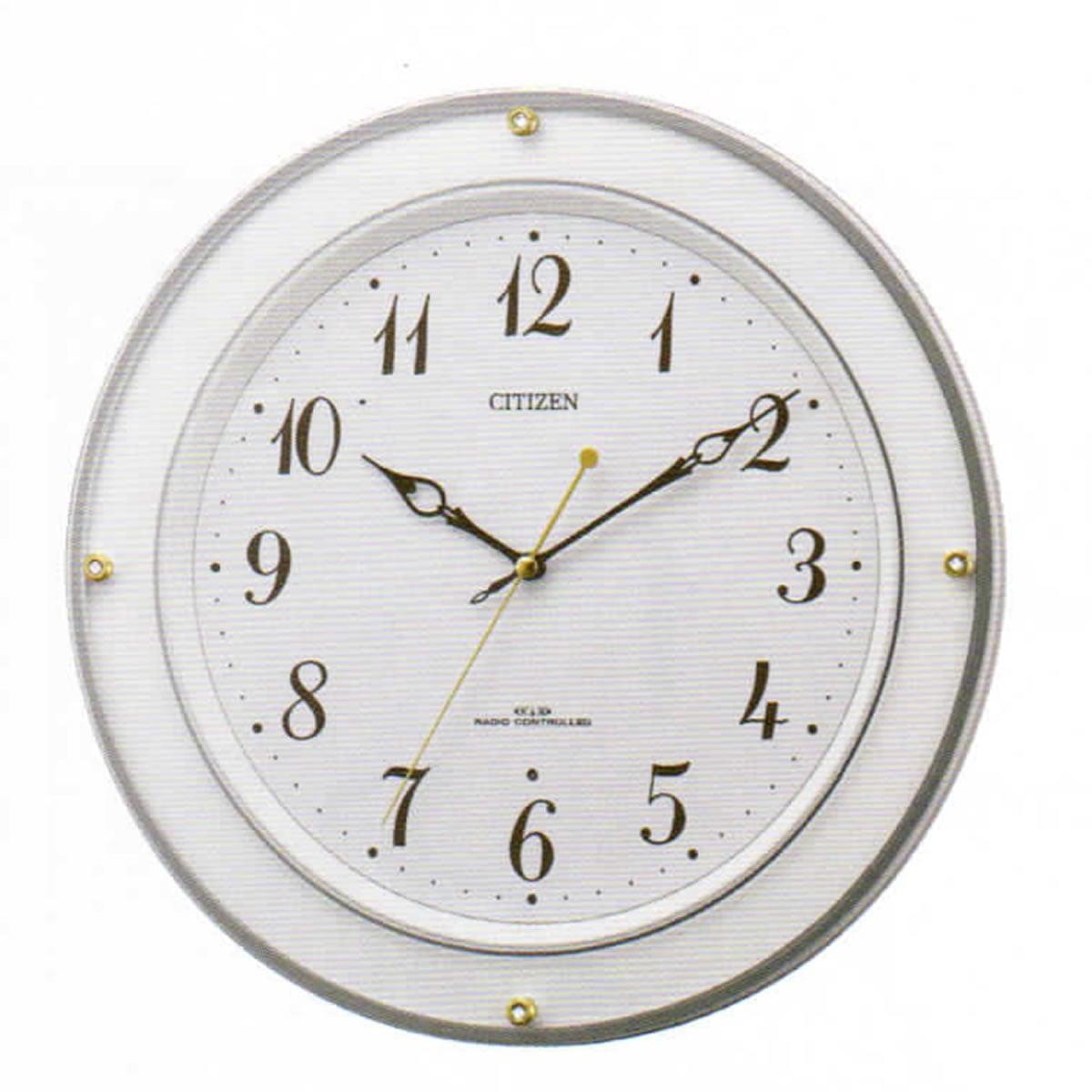 CITIZEN(シチズン)電波掛け時計 8MY518-003