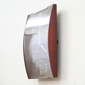 CITIZEN シチズン SIMPLE MODE 電波掛け時計 シンプルモード【8mya08006】 側面