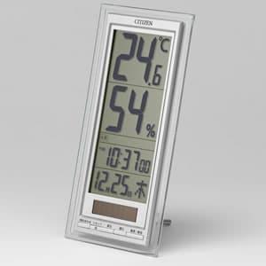 シチズン CITIZEN 温湿度計 ライフナビD204A【8RD204-A19】 置き