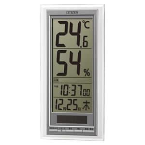 シチズン CITIZEN 温湿度計 ライフナビD204A【8RD204-A19】 掛け