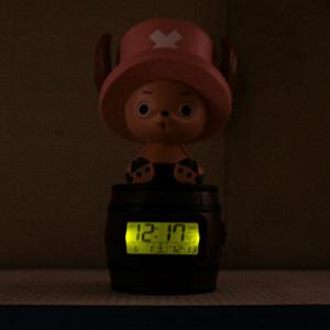 CITIZEN/シチズン ONE PIECE 目覚まし時計 トニートニー・チョッパー 【8RDA51RH06】 ライト付