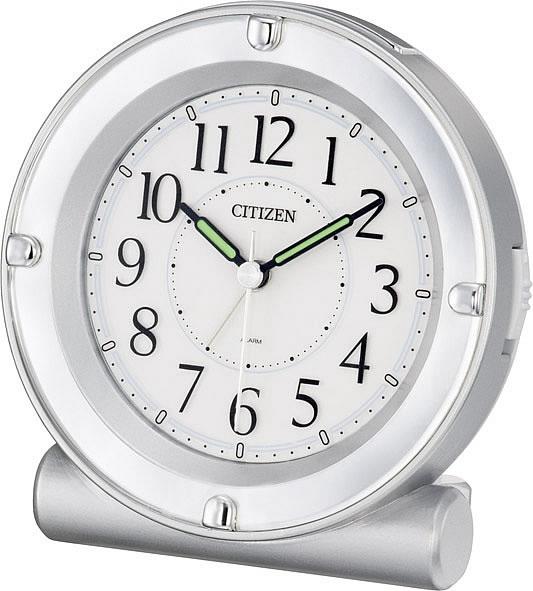 CITIZEN/シチズン 全面が点灯するライト付目覚まし時計 セリア8REA18シリーズ ピンク 【8REA18019】