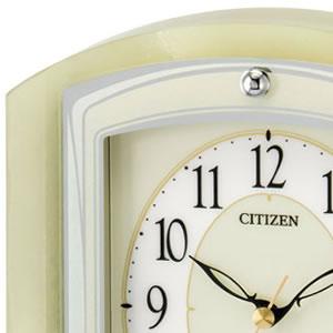 CITIZEN シチズン 電波置き時計 パルラフィーネR400 【8RY400-005】 文字盤