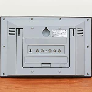シチズン掛け置き兼用 電波パルデジットコンビR096 【8RZ096-023】 背面