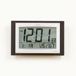 シチズン掛け置き兼用 電波パルデジットコンビR096 【8RZ096-023】 掛け置き兼用