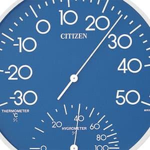 シチズン CITIZEN 温湿度計 TM-108 【9CZ056-004】 カラー