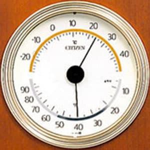 シチズン CITIZEN 温湿度計 TM147 【9CZ093-006】 温湿度計