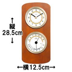 シチズン CITIZEN 温湿度計 TM147 【9CZ093-006】 サイズ