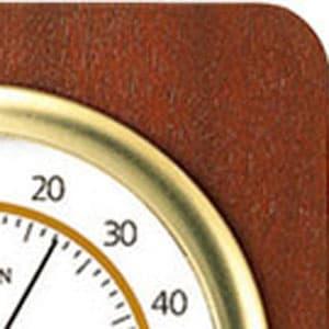 シチズン CITIZEN 温湿度計 TM148 【9CZ094-006】 木枠