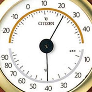 シチズン CITIZEN 温湿度計 TM148 【9CZ094-006】 文字盤
