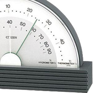 シチズン CITIZEN 温湿度計 TM142 【9CZ099-008】 デザイン