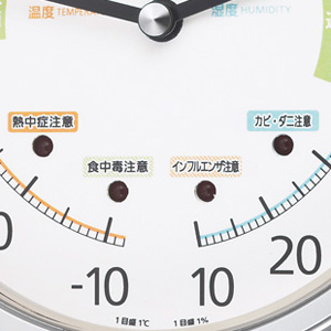 CITIZEN 温湿度計 ライフナビ200【9CZ200-019】 LED点滅