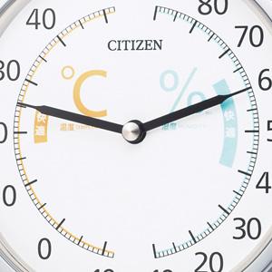 CITIZEN 温湿度計 ライフナビ201【9CZ201-019】 指針