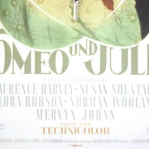 HERMLE ヘルムレ ロミオとジュリエット ポスターデザイン 掛け時計 【 30816-002100 】 デザイン