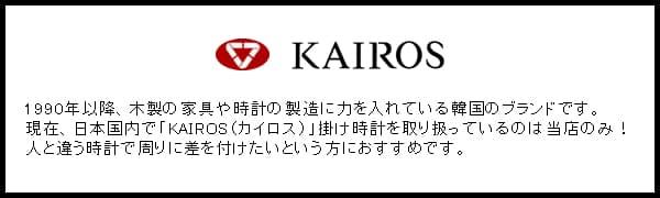 KAIROSについて