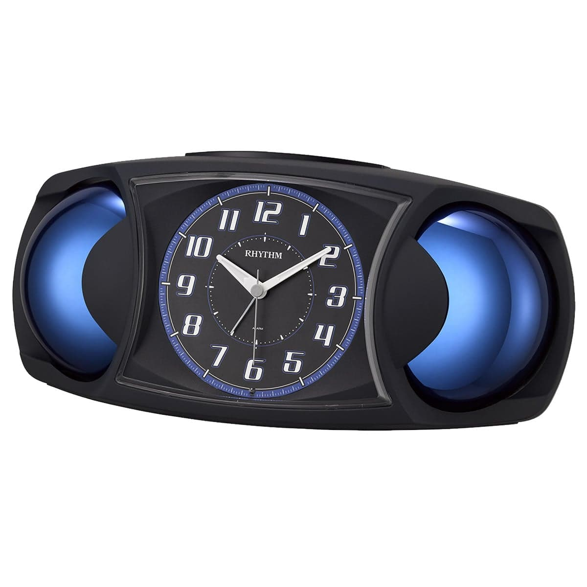 RHYTHM(リズム) 目覚まし時計 バトルMAX X 黒 4RA482SR02