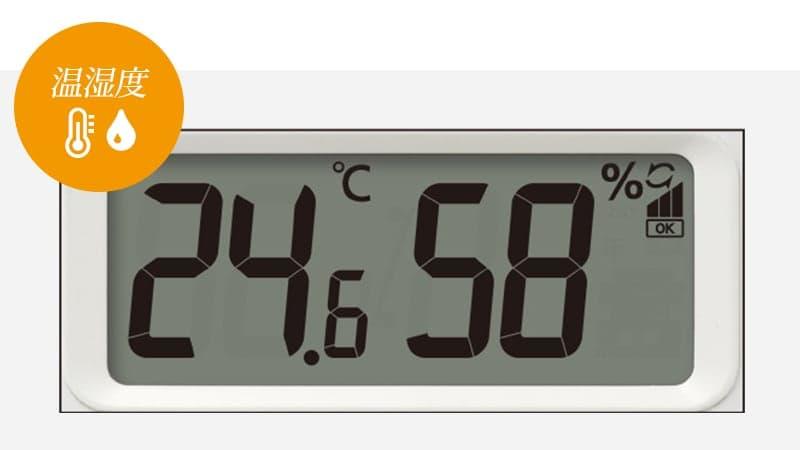 温湿度表示