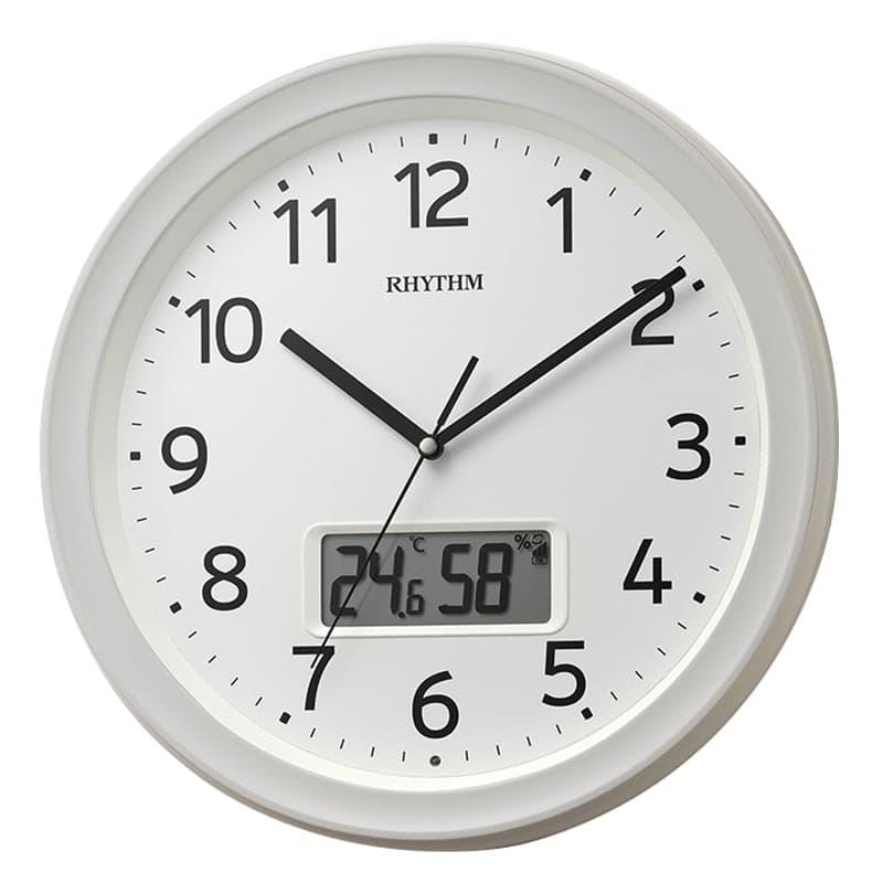 RHYTHM(リズム)電波掛け時計 8FYA02SR03
