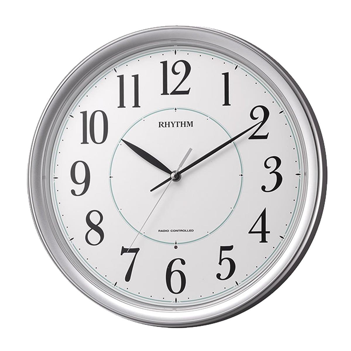 RHYTHM(リズム) 電波掛け時計 フィットウェーブプリミエ 8MY494SR19