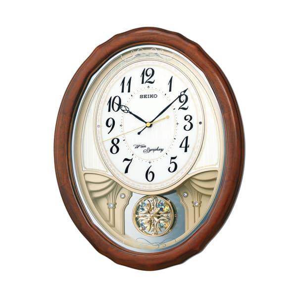 SEIKO/セイコー 電波からくり掛け時計 AM257B