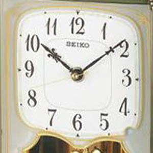 SEIKO セイコー 木の風合いが魅力な電波置き時計 【BY233B】 文字盤