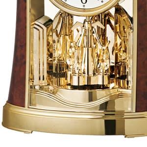 SEIKO セイコー 置き時計【BY427B】 一方向回転飾り