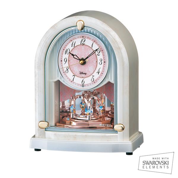 SEIKO/セイコー ディズニー電波置き時計 ディズニープリンセス【FS201W】